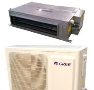格力FGR2.6/C 暗藏超薄风管式一拖一冷暖中央空调1匹